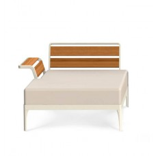 Ethimo Meridien Lounge Daybed rechts mit Armlehne